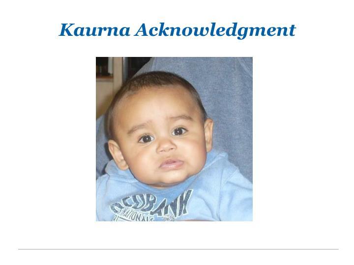 Kaurna Acknowledgment