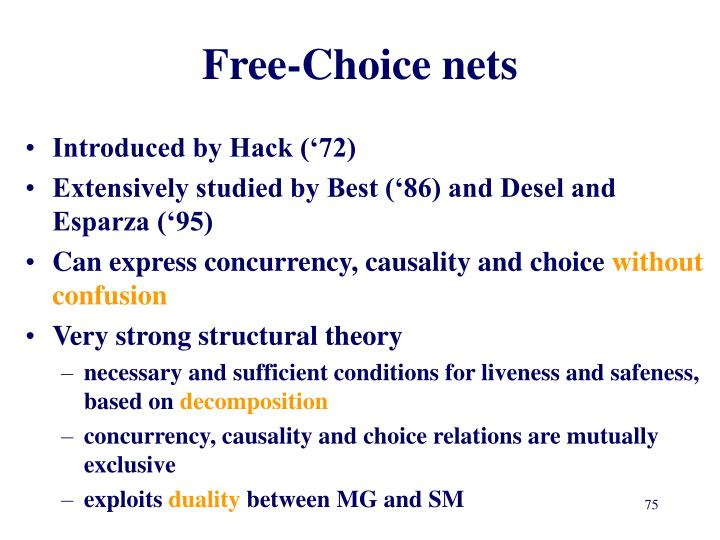 Free-Choice nets