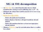 mg sm decomposition