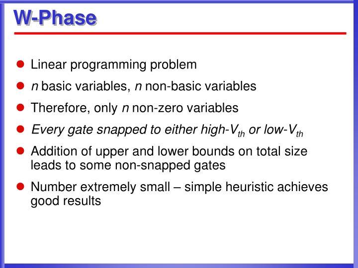 W-Phase