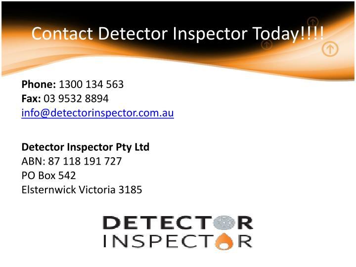 Contact Detector