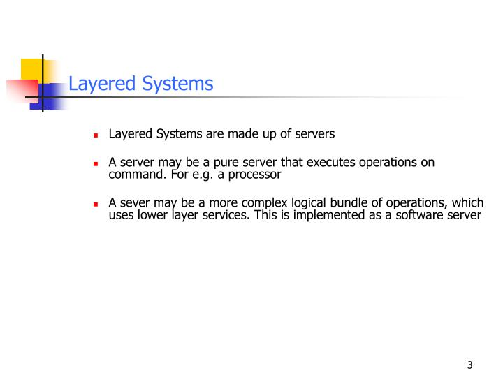 Layered systems
