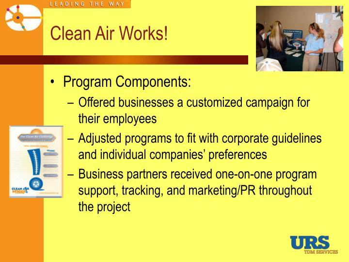 Clean Air Works!