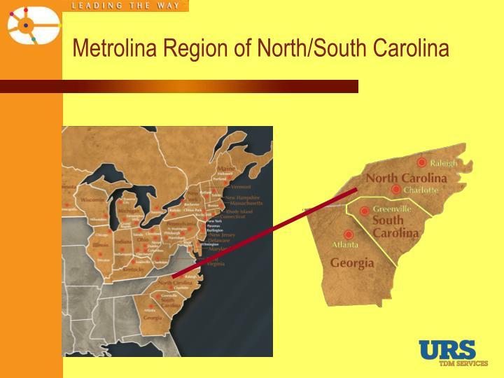 Metrolina Region of North/South Carolina