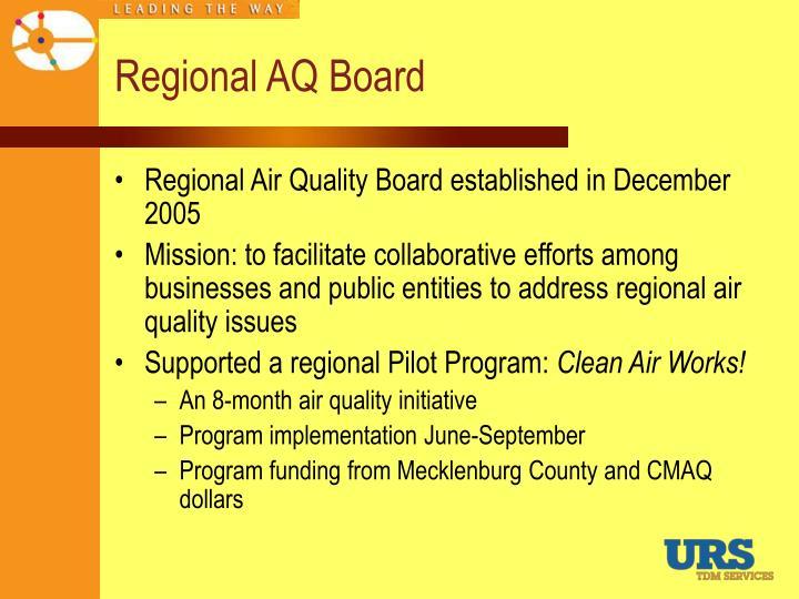 Regional AQ Board