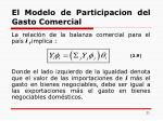 el modelo de participacion del gasto comercial3