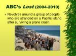 abc s lost 2004 2010
