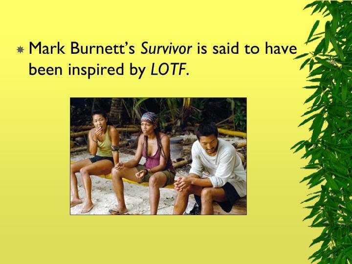 Mark Burnett's