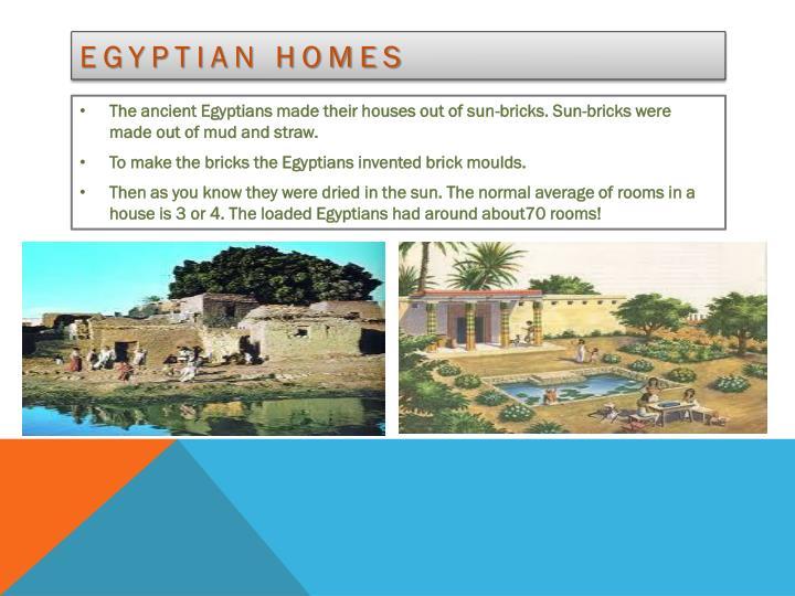 Egyptian homes