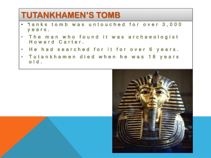 Tutankhamen's tomb