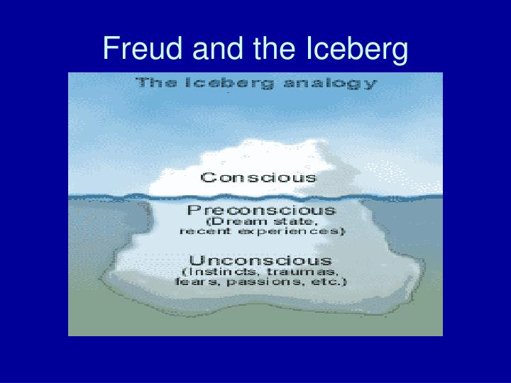 Freud and the Iceberg
