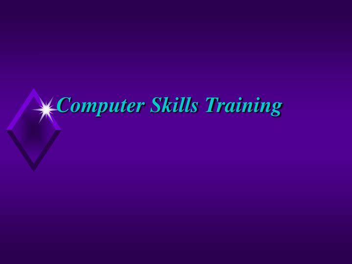 Computer Skills Training