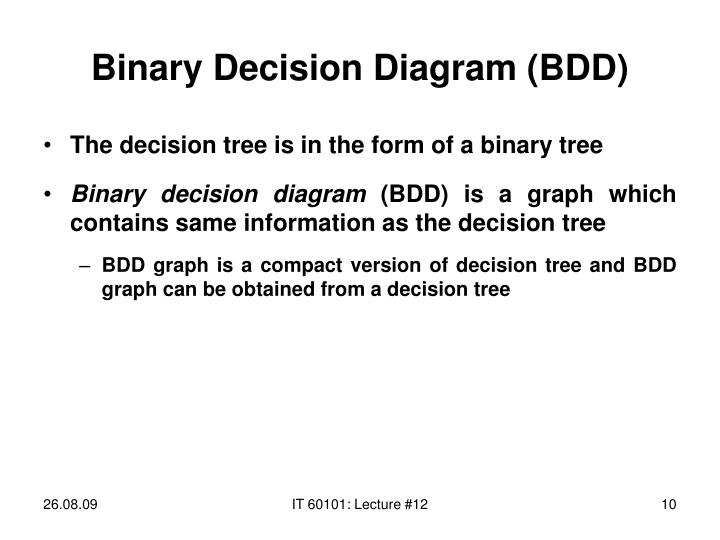 Binary Decision Diagram (BDD)
