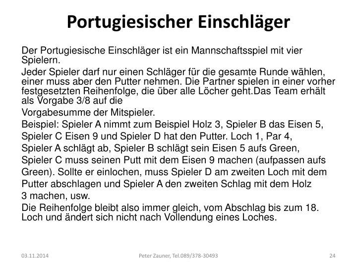 Portugiesischer