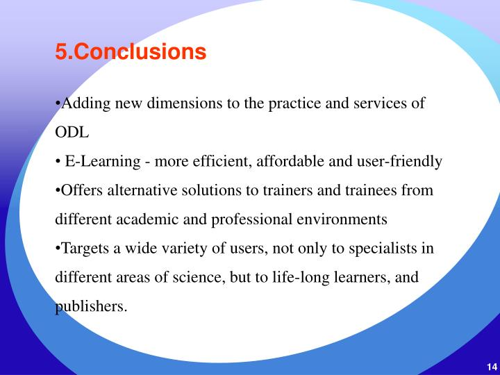 5.Conclusions