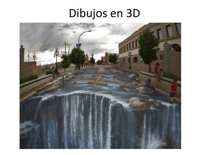 Dibujos en 3D