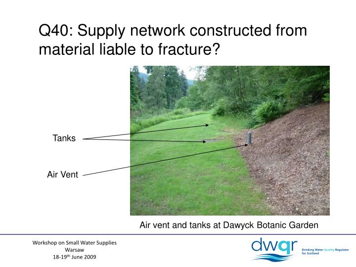 Q40: Supply network constructed from