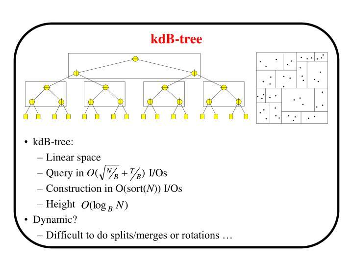 kdB-tree