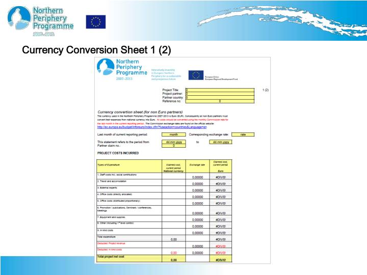 Currency Conversion Sheet 1 (2)