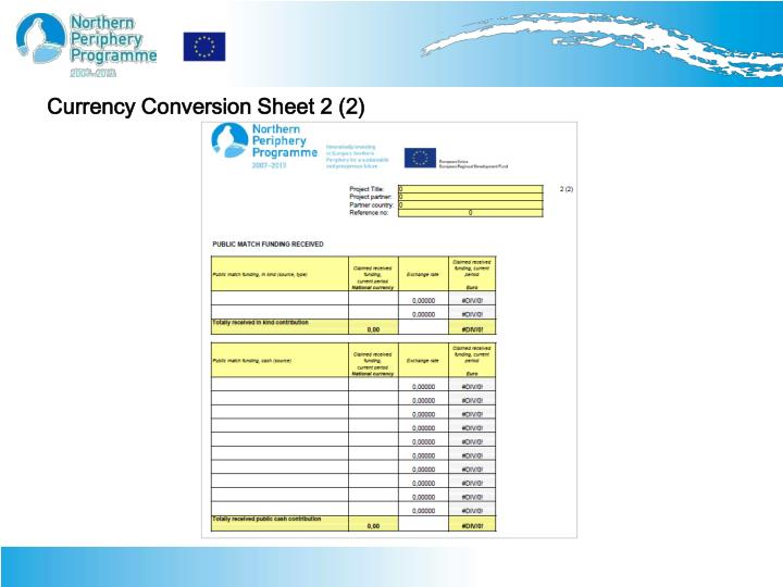 Currency Conversion Sheet 2 (2)