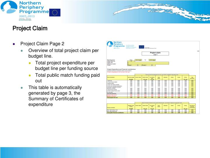 Project Claim