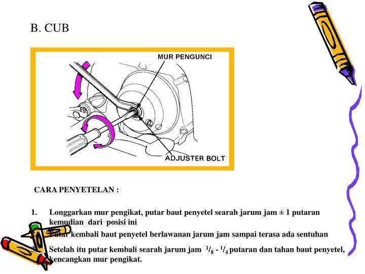 B. CUB