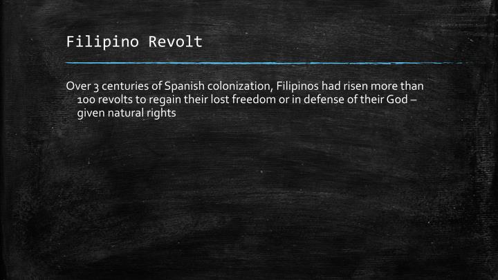 Filipino Revolt