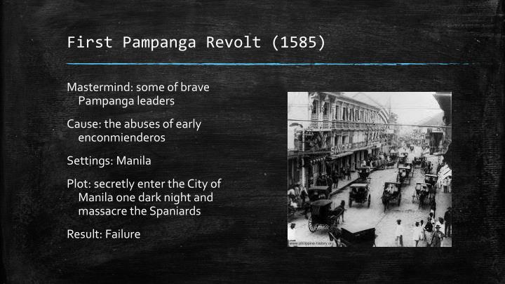 First Pampanga Revolt (1585)