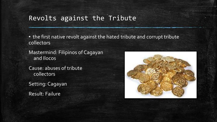 Revolts against the Tribute