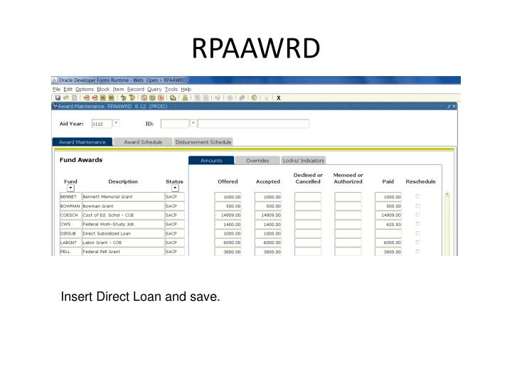 RPAAWRD