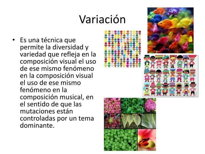 Variación
