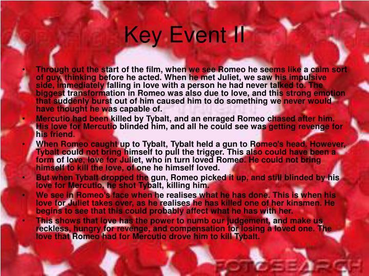 Key Event II
