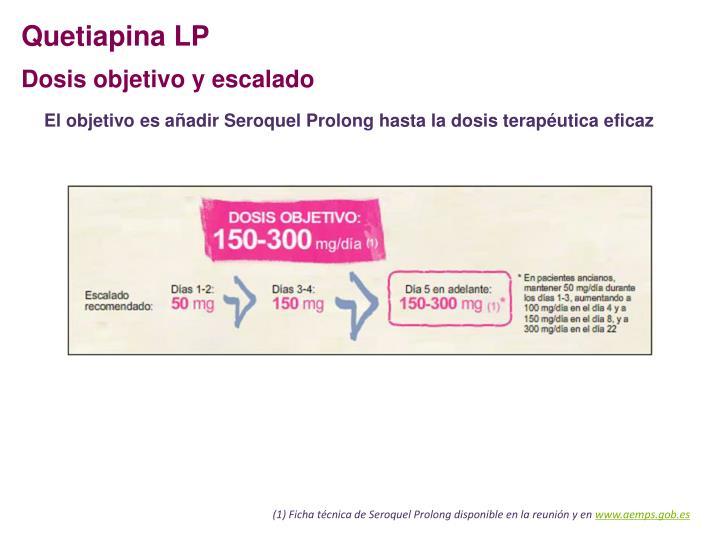 Quetiapina LP
