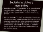 sociedades civiles y mercantiles15