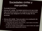 sociedades civiles y mercantiles20
