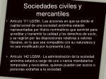 sociedades civiles y mercantiles22