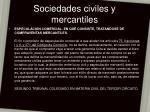 sociedades civiles y mercantiles6