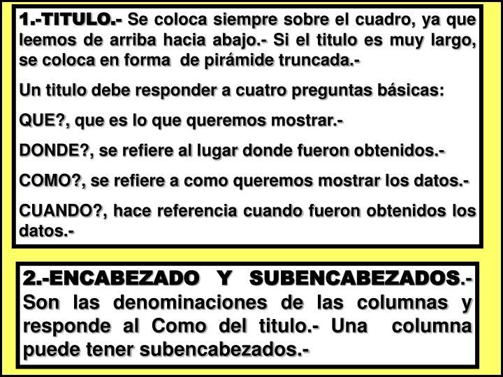 1.-TITULO.-
