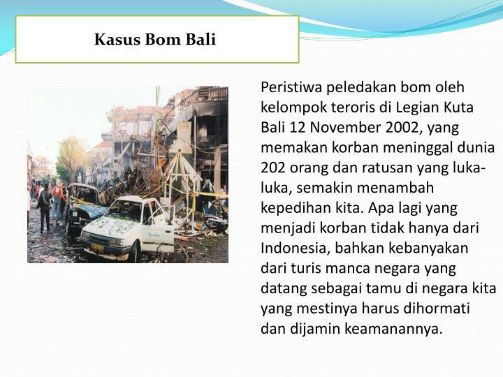 Kasus Bom Bali