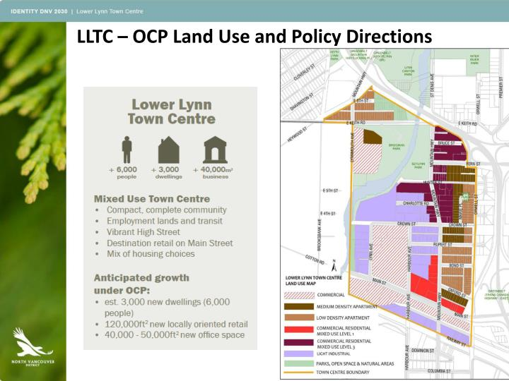 LLTC – OCP Land Use and Policy Directions