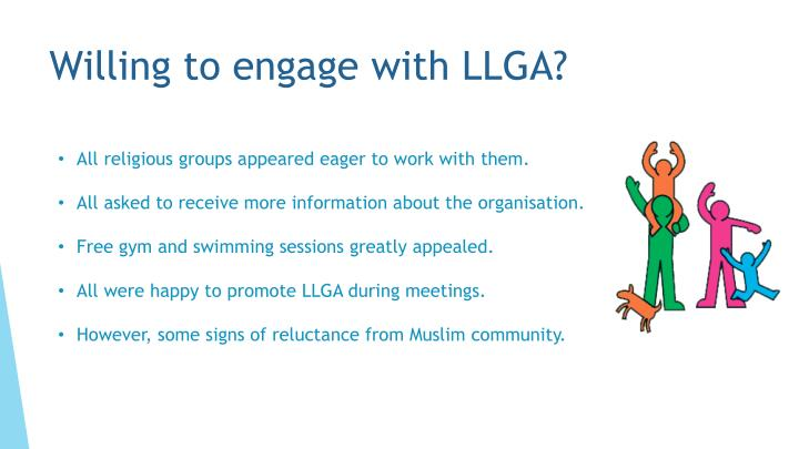 Willing to engage with LLGA?