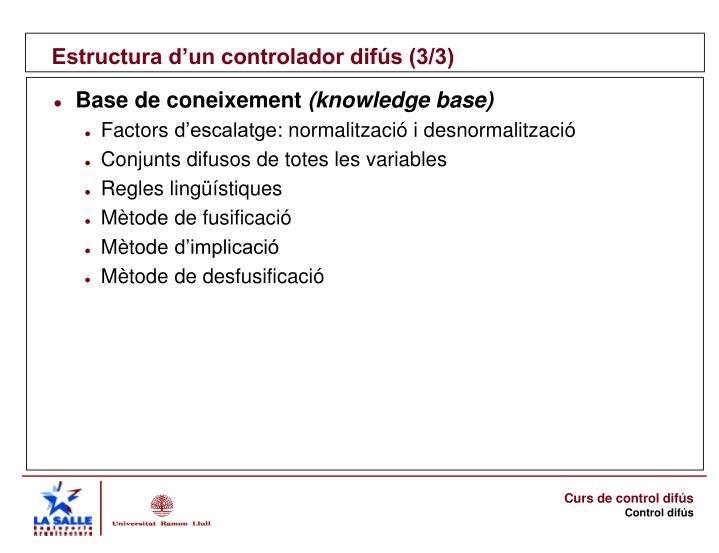 Estructura d'un controlador difús (3/3)