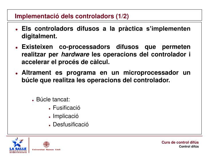 Implementació dels controladors (1/2)