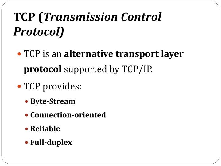 TCP (