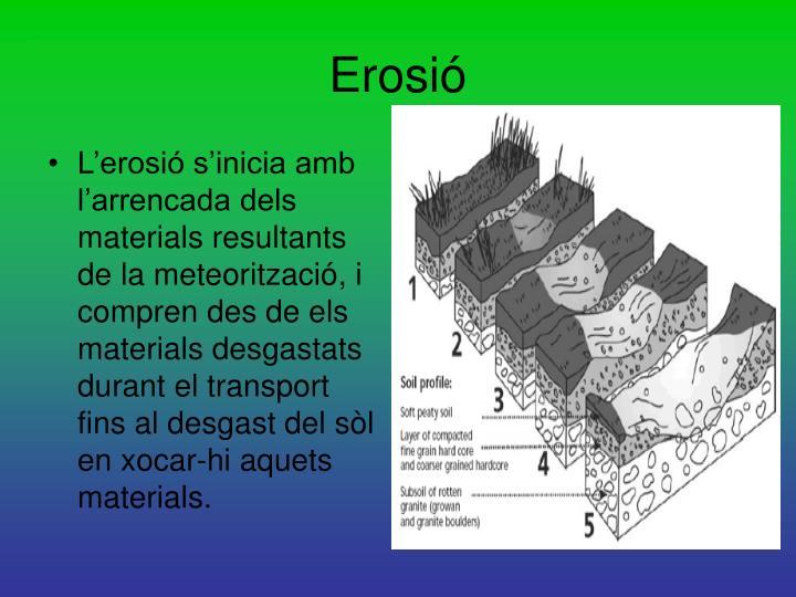 Erosió