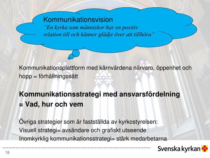 Kommunikationsvision
