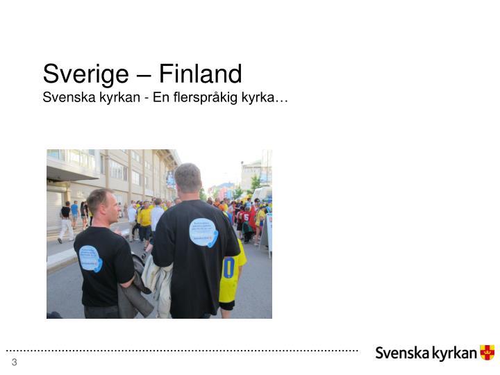 Sverige – Finland