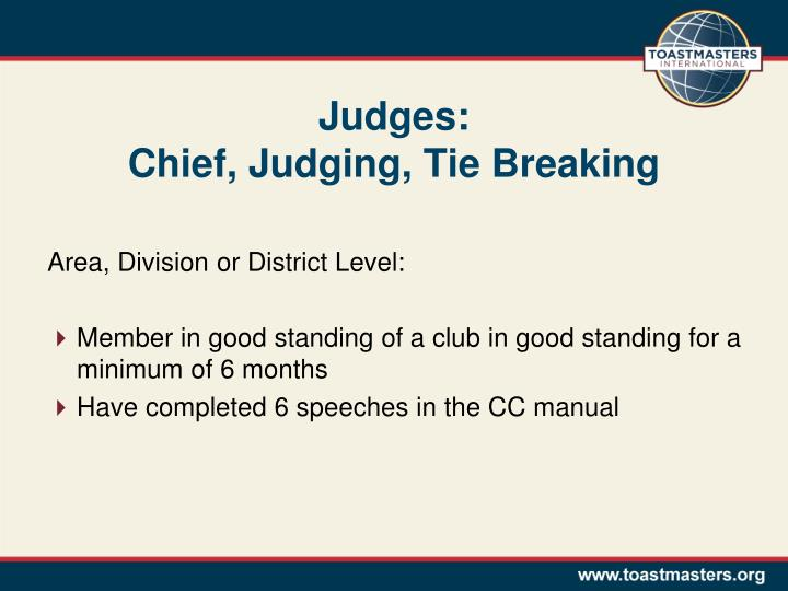 Judges: