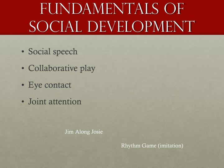 Fundamentals of Social Development