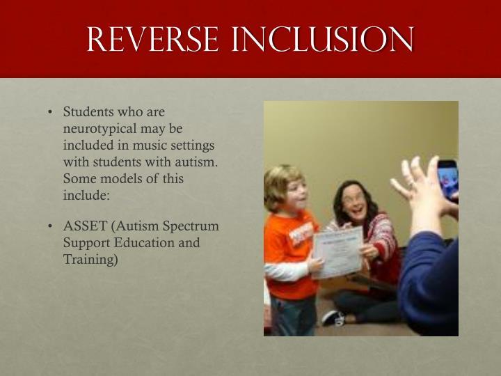 Reverse Inclusion